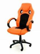 Fotel biurowy XRacer PRO pomarańczowo-czarny