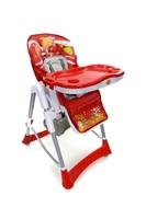 Krzesełko do karmienia Baby Maxi ROZKŁADANE- CZERWONE