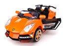 Pojazd akumulatorowy LAMBO - pomarańczowy