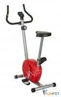 Rower treningowy magnetyczny czerwony