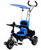 Rowerek Trójkołowy PATY BIKE II - niebieski