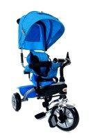 Rowerek Trójkołowy PATY BIKE PLUS - niebieski