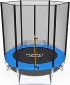 Trampolina składana 183 cm z siatką ochronną