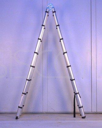 Drabina Teleskopowa podwójna 5m