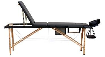 Stół, łóżko do masażu 3 segmentowe drewniane