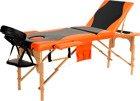 Łóżko do masażu 3 segmentowe dwukolorowe