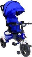 Rowerek trójkołowy z obracanym siedziskiem FUNFIT KIDS - niebieski