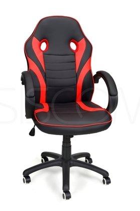 Fotel biurowy RACE GAMER czarno-czerwony