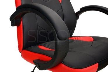 Fotel biurowy XGAMER - czarno-czerwony