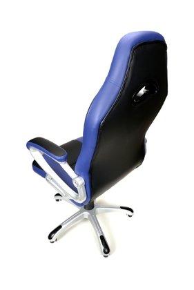 Fotel biurowy XRacer granatowo-czarny