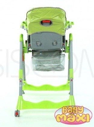 Krzesełko do karmienia składane, zielone, model 202