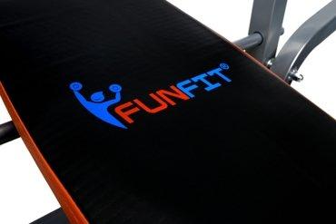 Ławka treningowa pod sztangę z modlitewnikiem FUNFIT
