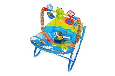 Leżaczek Bujaczek dla niemowląt
