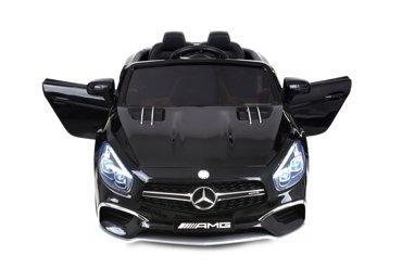 Pojazd akumulatorowy na licencji MERCEDES SL63 czarny