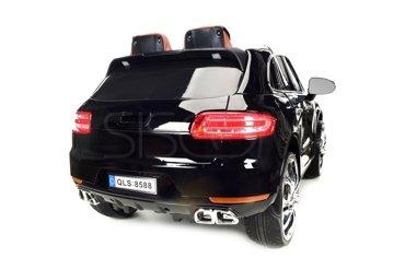 Pojazd elektryczny dla dzieci, na akumulator SUV czarny