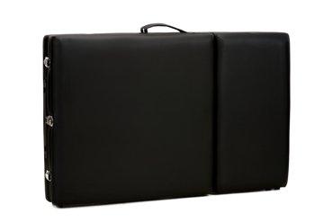 Stół, łóżko do masażu 3 segmentowe drewniane czarne
